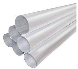 Förderrohr aus Aluminium